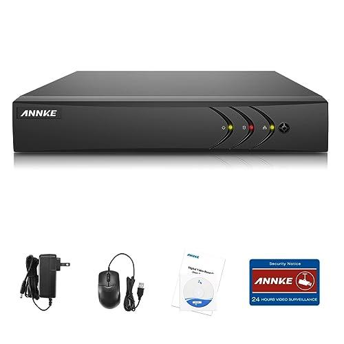 ANNKE 4CH 1080N DVR HDMI H.264 CCTV Enregistreur Vidéo Numérique Digital Video Recorder Système de Sécurité Détection de Mouvement Souveiller par Ordinateur ou Smartphone