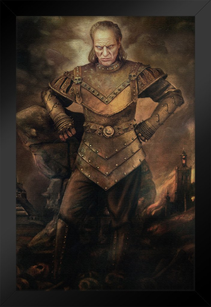 Vigo the Carpathian Ghostbusters Movie Painting Framed Poster by ProFrames 14x20 inch by Poster Foundry