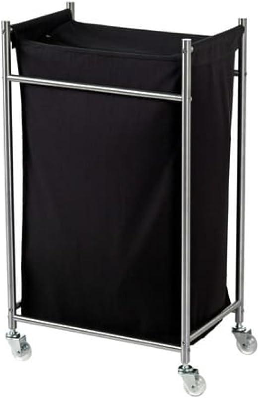 Ikea Grundtal 502.192.99 - Cubo de la colada con ruedas (acero ...