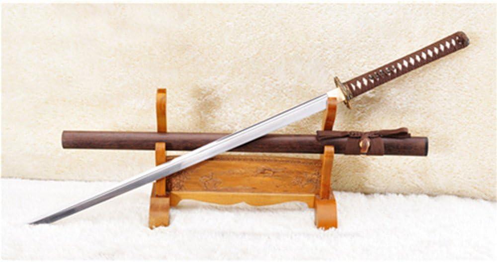 ryan sword Ninja Chokuto Straight Blade 1095 Steel Dragon Tsuba Full Tang-Ryan1022