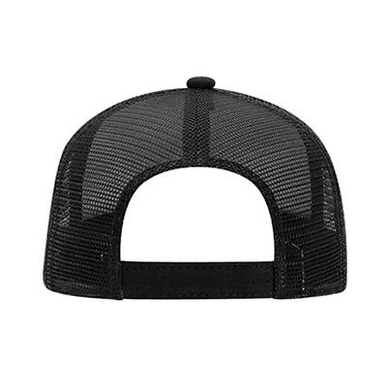 63dbb6c3bdc Cotton Flannel Trucker Hat with Adjustable Mesh Back Justin Bieber Solid  Black Baseball Caps