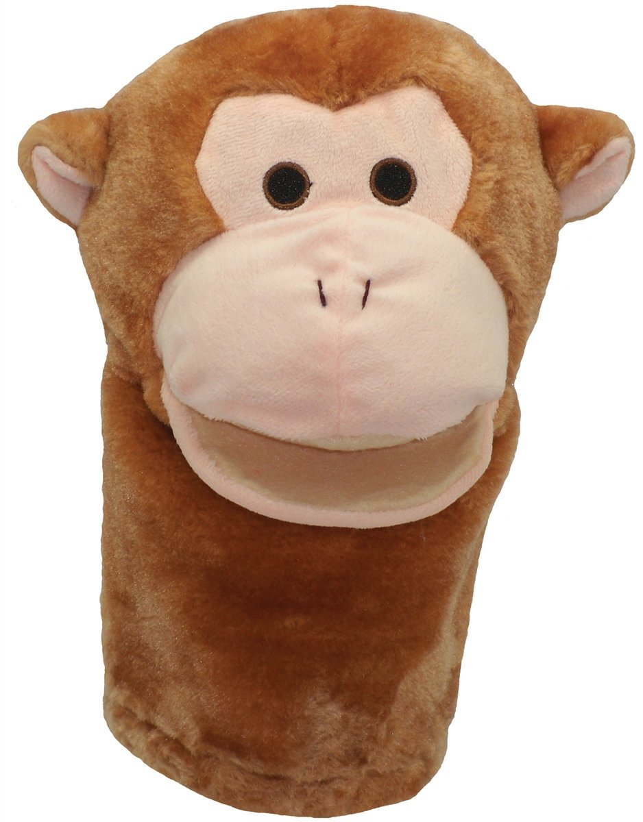 Get Ready Kids Bigmouth Monkey Puppet