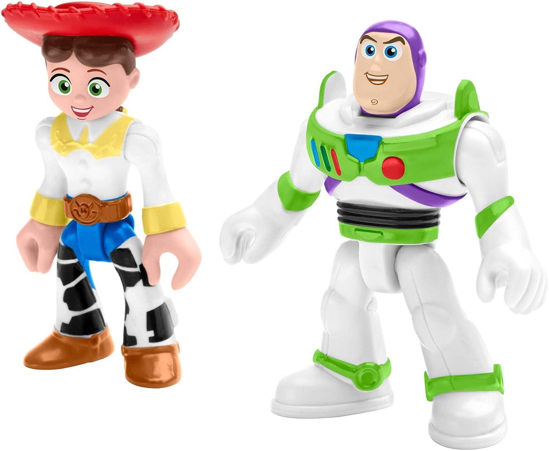 Toy Story Fisher-Price Disney/Pixar Imaginext 4 Buzz & Jessie 2 ...