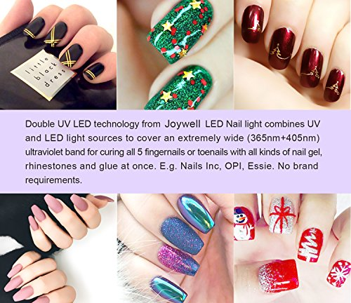 Joywell Led Nail Lamp 48w Led Uv Nail Dryer With Led Display And