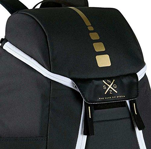 f9b716a1ff61 Nike mens ELITE MAX AIR BACKPACK BA5260 (Anthracite Black Gold