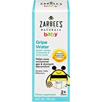 Zarbee's Naturals Baby Gripe Water, Clinically Supported Formula with Ginger, Fennel...