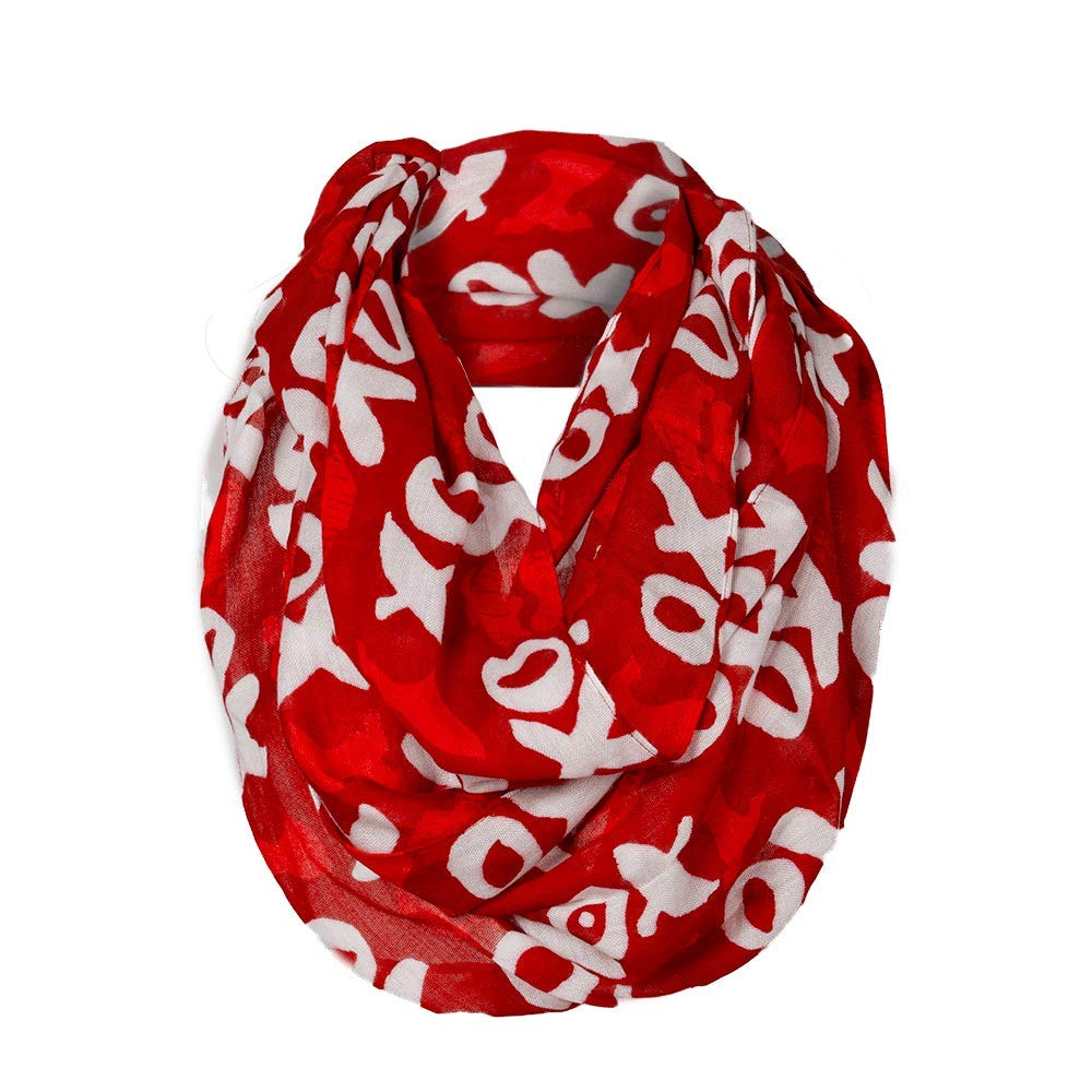 Go Red for Women XO Infinity Scarf