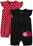 Wan-A-Beez Baby Girls' 2 Pack Embroidered