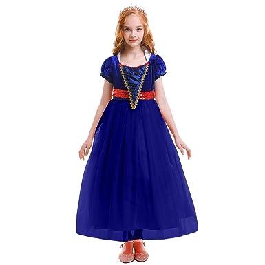 34713474920c IBTOM CASTLE Snow White Princess Dress Sleeping Beauty Costume Party Dress  Ceremony Fancy Costume 5-