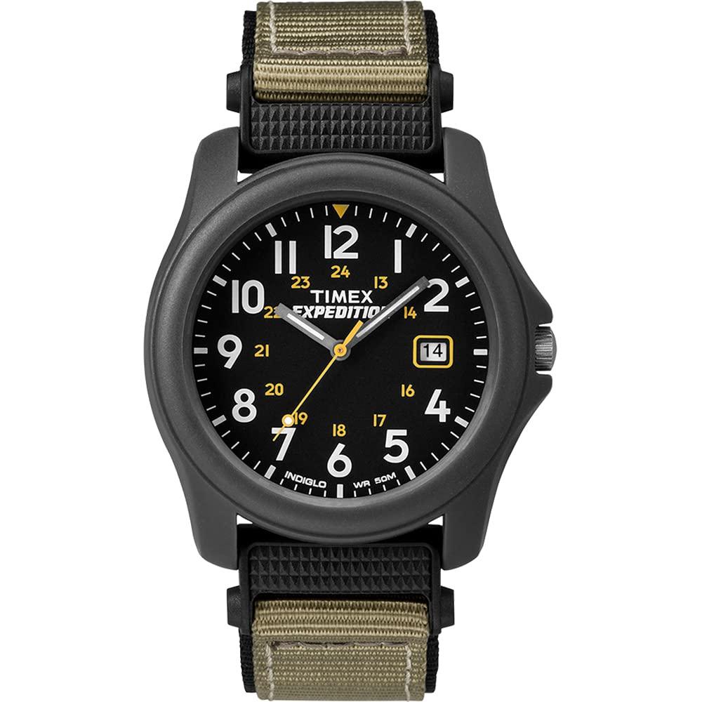 Expedition Camper Nylon Strap Watch - Black
