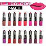 LA COLORS Flat Smooth Finish MATTE Lipstick 16 pc Set