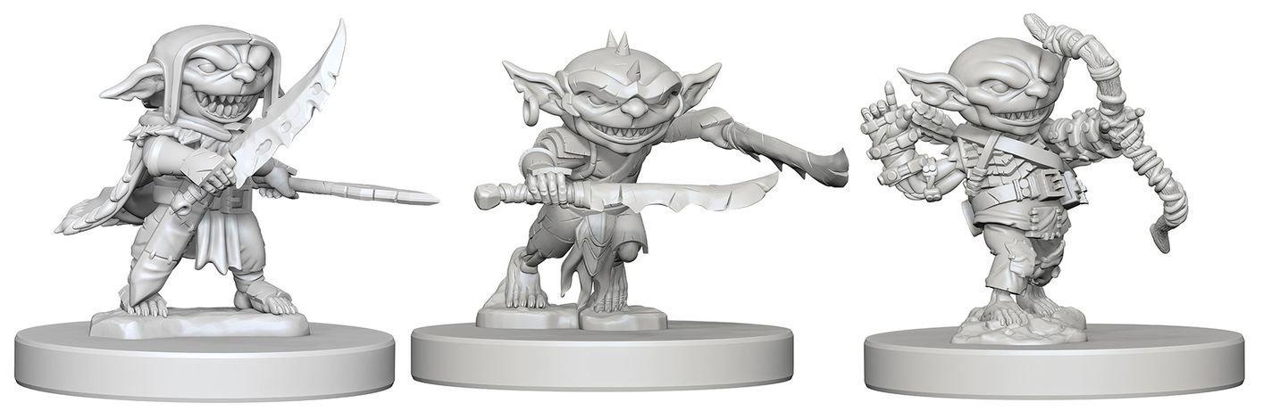 Pathfinder Deep Cuts Unpainted Miniatures Goblins
