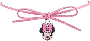 SIX Kinder Disney Schmuck - Minnie Mouse Halskette mit Schleife in rosa (297-609)