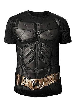 best sneakers c2339 db001 DC Comics - Batman Arkham City Herren T-Shirt - Armor Suits (Schwarz)  (S-XXL)