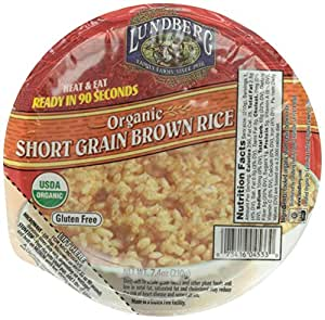 Amazon.com : Lundberg Organic Brown Rice Bowl, Short Grain