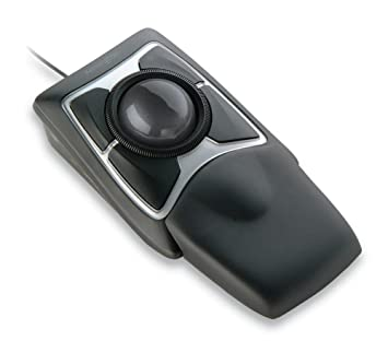 e332c6a4fd0 Kensington Expert Mouse - Wired Optical Ergonomic Trackball Mouse with  Scroll Ring, Compatible with Windows & macOS - Space Grey (64325):  Amazon.co.uk: ...
