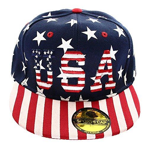 Usa Caps American Flag - 4