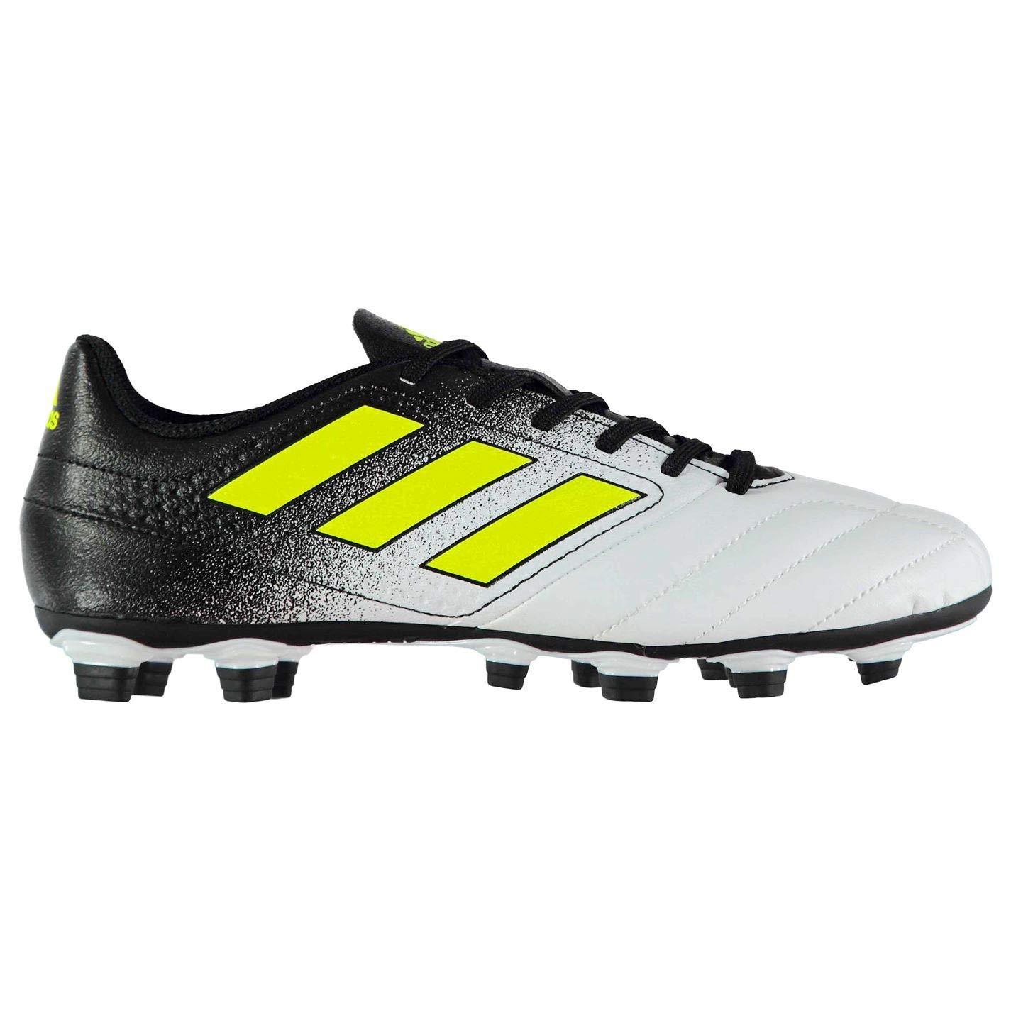 Adida Ace 17.4 FG Fußballschuhe für Herren, Weiß Gelb