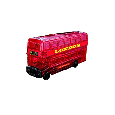 Original 3D Crystal Puzzle - London Bus: Toys & Games