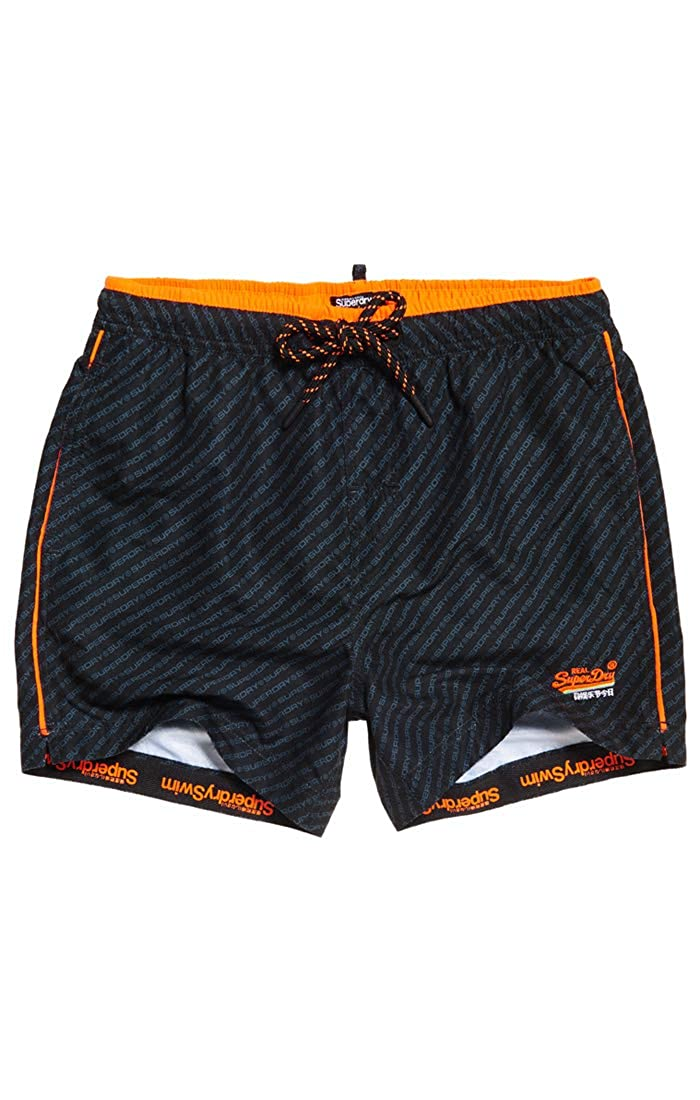 TALLA M. Superdry Beach Volley Swim Short - Bañador Hombre