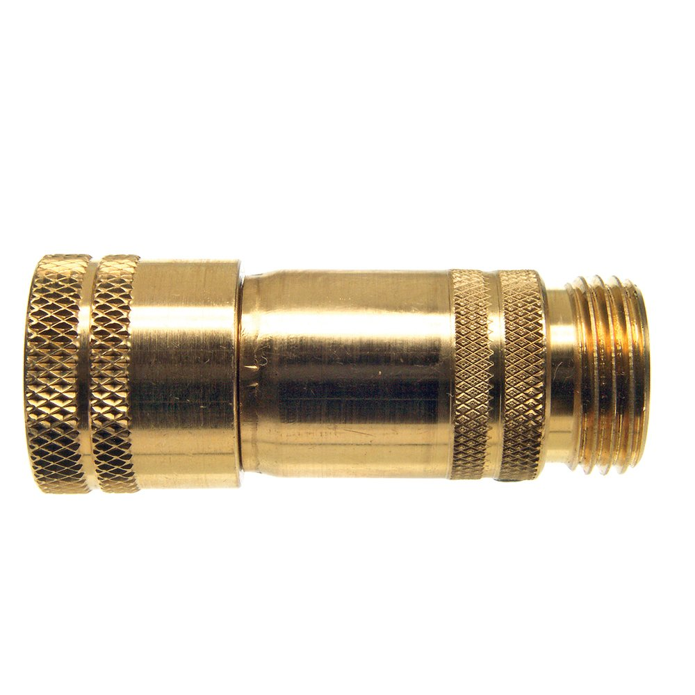 Danco 88331E Mobile Home/RV Water Pressure Regulator RV-LL, Brass