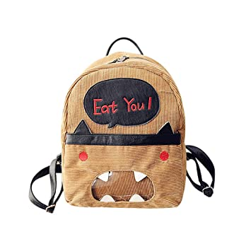 67a9d468ddaf Amazon.com : ❤ Sunbona Schoolbag for Women Retro Small Bag ...