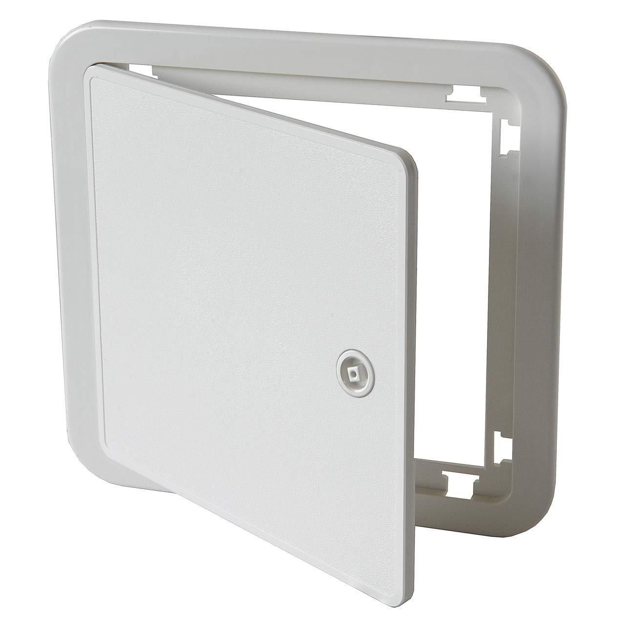 Color Blanco Puerta de inspecci/ón de ABS 215 x 215 mm La Ventilazione SI2020B