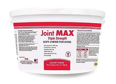 Joint MAX Triple Strength Soft Chews Glucosamine Chondroitin
