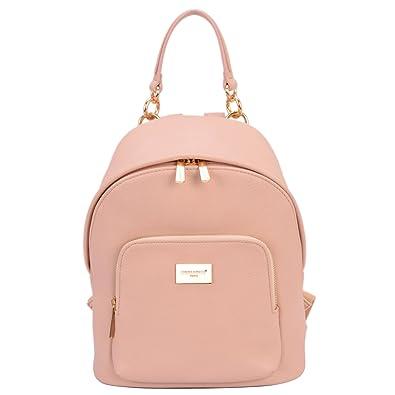 1f5ae5d465e David Jones - Women s Fashion Backpack Back Bag Rucksack Girl School  Teenager Purse Small Size Trendy