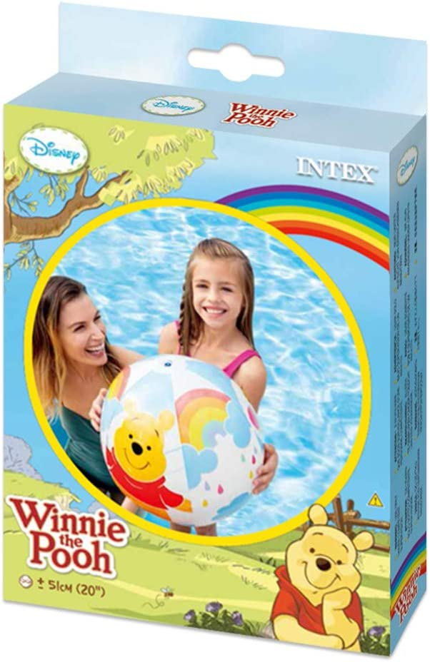 Intex 58025NP - Pelota hinchable Winnie the Pooh diámetro 51 cm, + ...