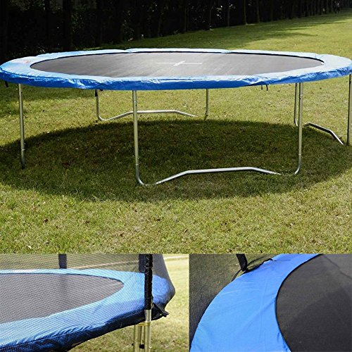 Trampoline Springs Off: 14FT Spring Trampoline Safety Round Frame Pad Cover