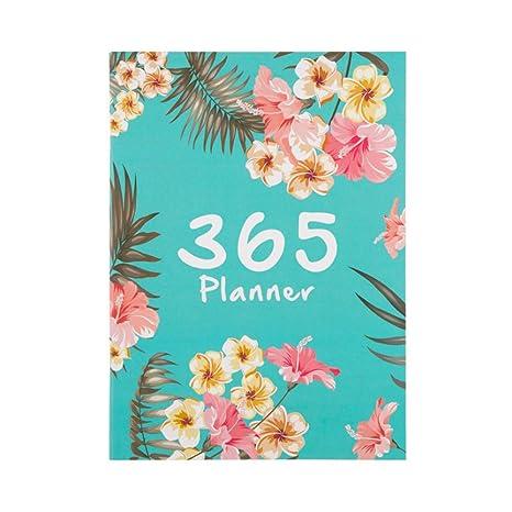Amazon.com : A4 Notebook 2019 Daily Planner Calendar ...