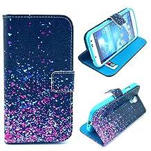 Samsung S4 Mini Case, Samsung Galaxy S4 Mini Case, Thinkcase Flip ID Card Wallet Case Colorful PU Leather Purse Design Case for Samsung Galaxy S4 Mini I9190