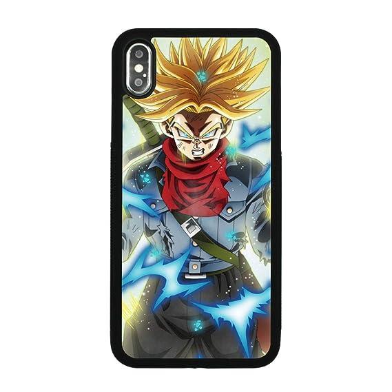 Amazon Com Dragon Ball Dbz Z Trunks Theme Case For Iphone Xs Max