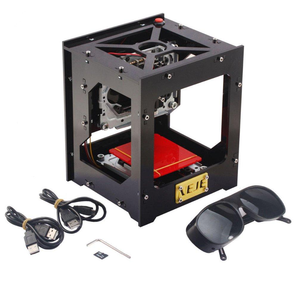 Grabado Máquina Impresora láser cnc USB 1000 MW engraver ...