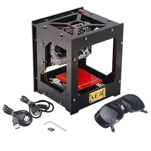 Grabado Máquina Impresora láser cnc USB 1000 MW engraver cortadora ...