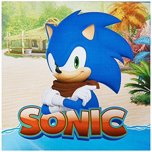 P. City Sonic Boom Lunch Napkins ()