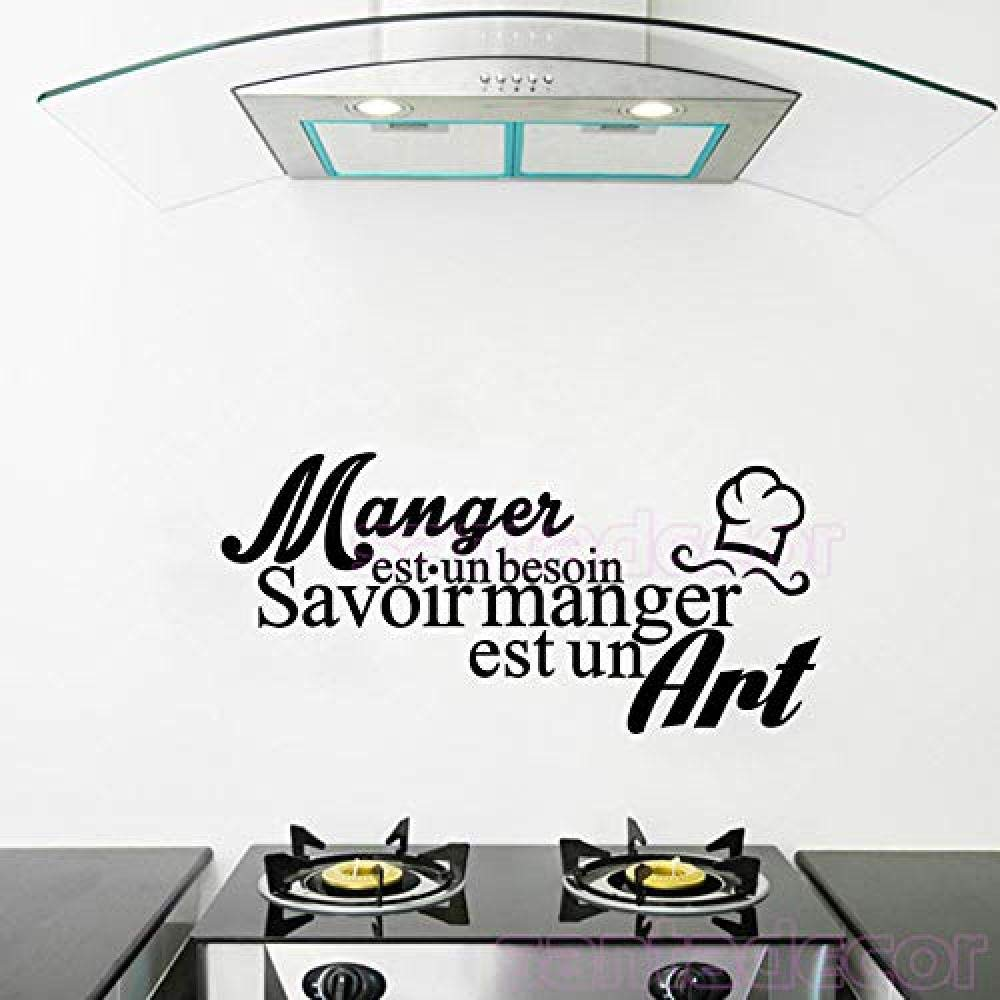 Amazon Com 3d Wall Stickers Vinyl Wall Sticker Citation Cuisine