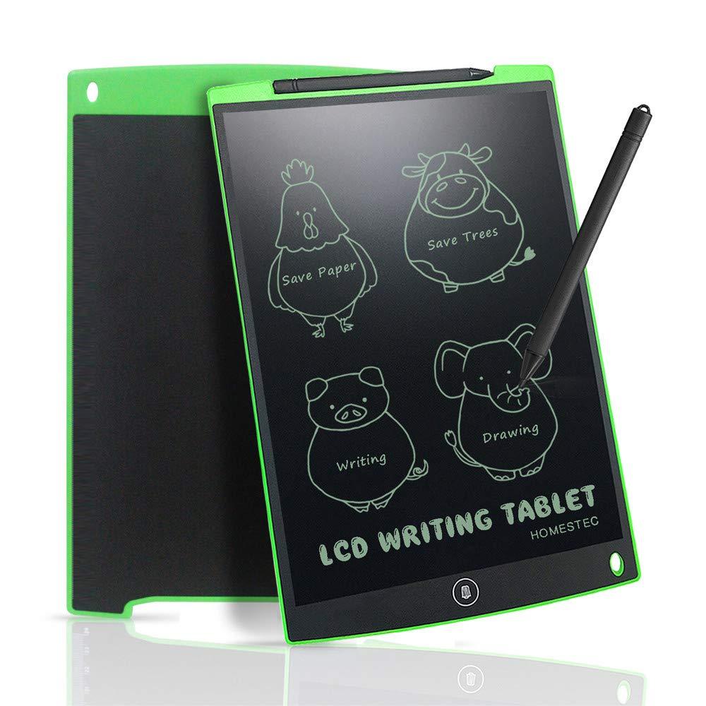 Black LCD 12 Inch Writing Memo Board Doodle Scribble Art Tablet E-Writer Score Math Student Board /…