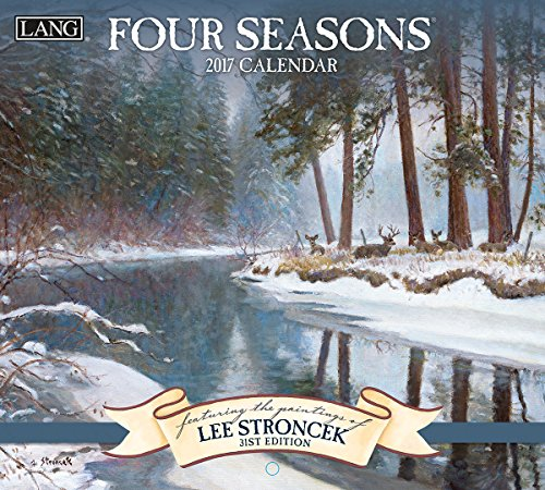 Lang 2017 Four Seasons Wall Calendar, 13.375 x 24 inches (17991001911) - 24