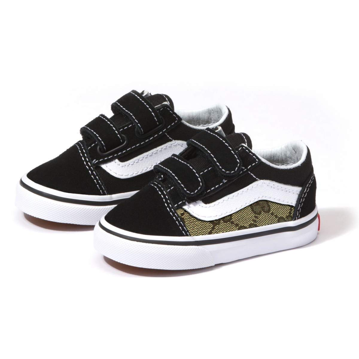 33d8898d673 Amazon.com  Vans Old Skool x Gucci Custom Handmade Uni-Sex Toddlers Shoes  By Patch Collection  Handmade