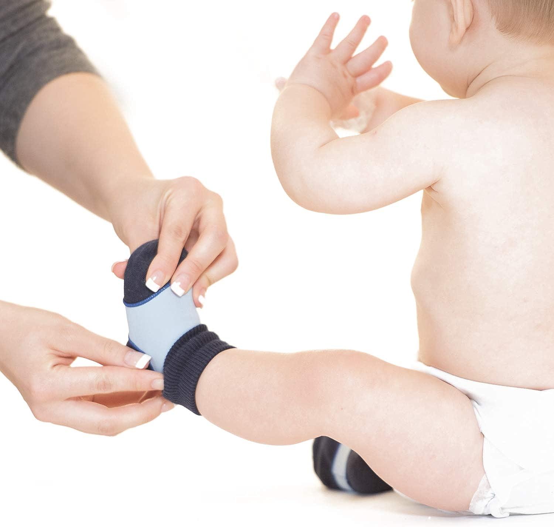 Baby-Sockenhalter 3er Pack Erstaunliches Vorteilspaket Baby-Socken immer anziehen! Sock Ons