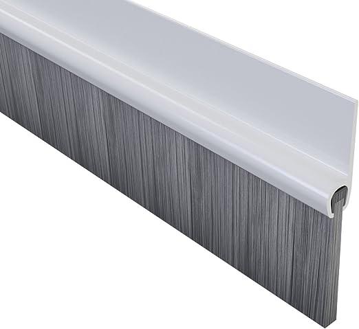 Stormguard - Burlete cepillo de PVC para puertas: Amazon.es: Bricolaje y herramientas