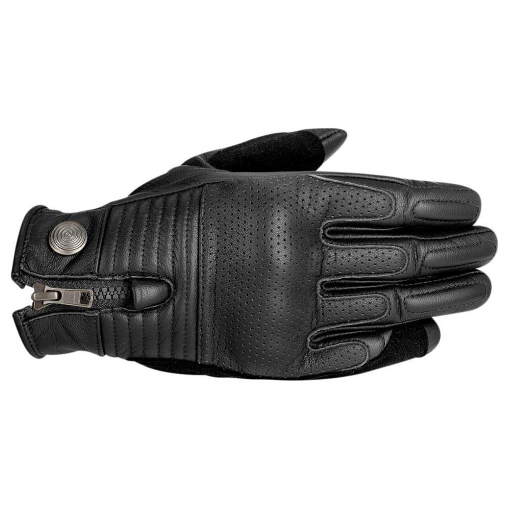 Alpinestars Rayburn Leather Motorcycle Glove - Black - Small