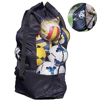 TUEU - Bolsa de balón de Baloncesto de Malla para Equipamiento ...
