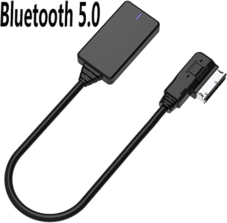 Acouto Car AMI MDI AUX Female USB Adapter Cable Bluetooth Audio for VW Audi A4L A6 Q5 Q7 Afterward 2009