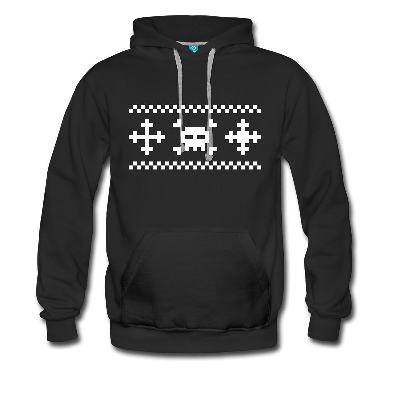 Deadly Christmas Männer Premium Kapuzenpullover von Spreadshirt®