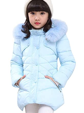 92b456eb3 Amazon.com  Miss Bei Girls  Puffer Down Coat Winter Jacket Parka ...