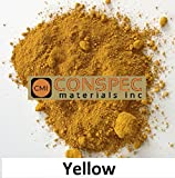 Conspec 1 Lbs. YELLOW Powdered Color for Concrete, Cement, Mortar, Grout, Plaster