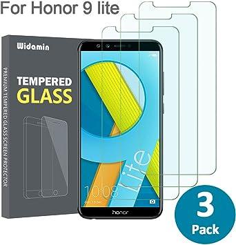 3Pack,Huawei Honor 9 Lite Cristal Templado, Pantalla protección ...